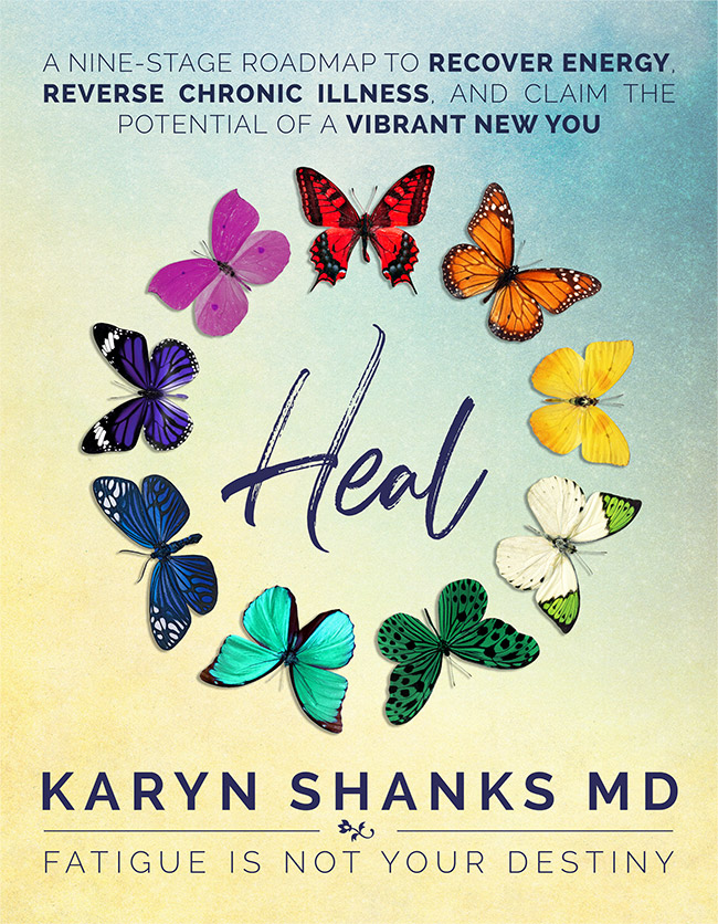 heal, karyn shanks md, fatigue is not your destiny