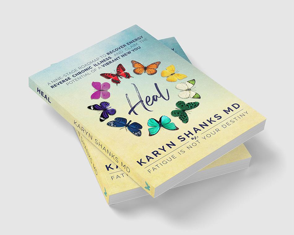 Heal, Karyn Shanks MD, The Nine Domains of Healing, Healing Roadmap